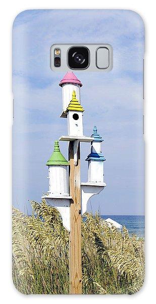 Beach Birdhouses Galaxy Case