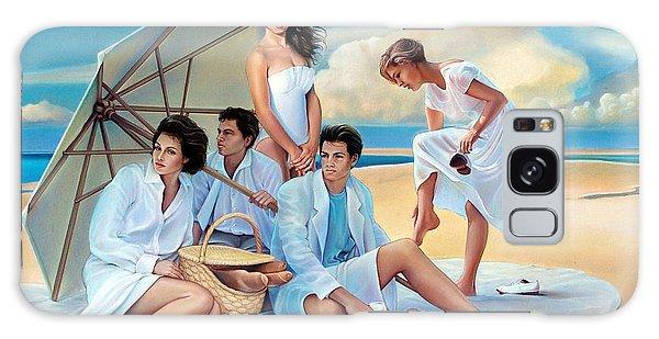 Galaxy Case - Beach Blanket Bingeaux by Patrick Anthony Pierson