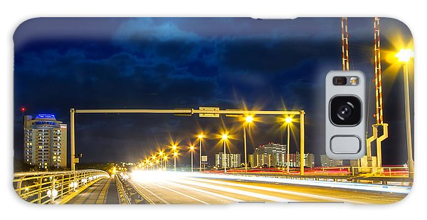 Rights Managed Images Galaxy Case - Beach Causeway by Mark Andrew Thomas