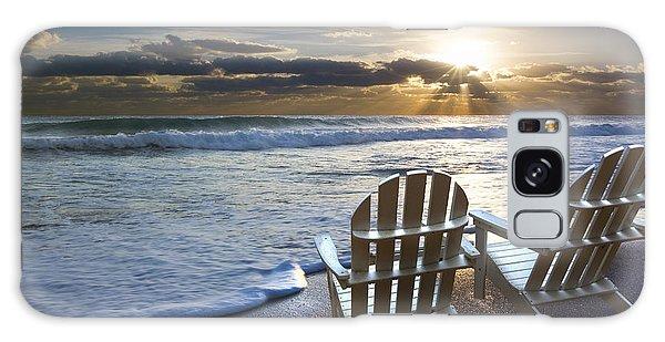 Boynton Galaxy S8 Case - Beach Chairs by Debra and Dave Vanderlaan