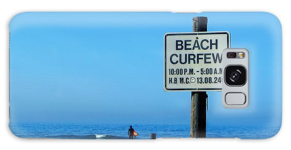 Beach Curfew Galaxy Case by Tammy Espino
