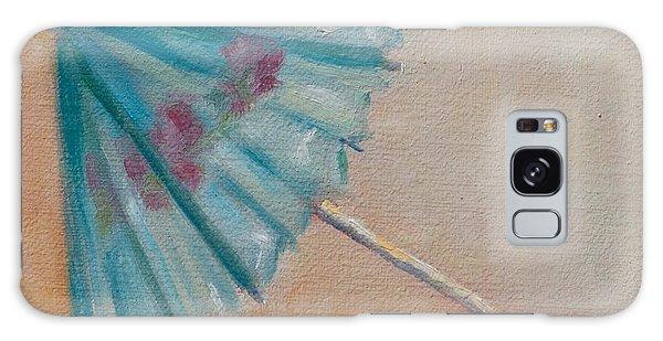 Beach Days Ahead Galaxy Case by Debbie Lamey-MacDonald