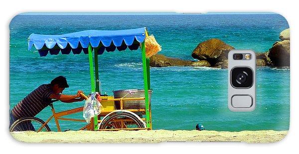 Beach Entrepreneur In San Jose Del Cabo Galaxy Case