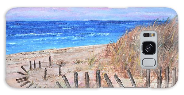 Beach Fence Galaxy Case
