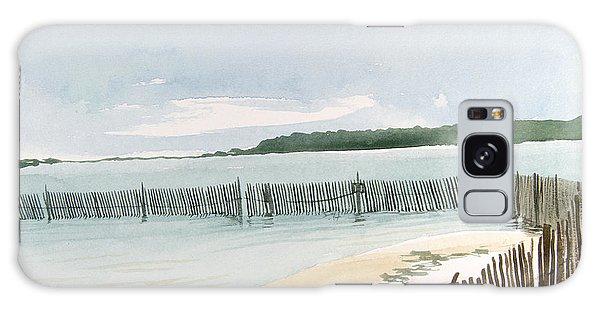 Beach Fence Galaxy Case