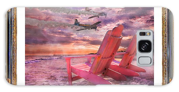Time Frame Galaxy Case - Beach Flight II  by Betsy Knapp