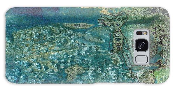 Beach Friends Flotsam And Jetsam Galaxy Case by Catherine Redmayne