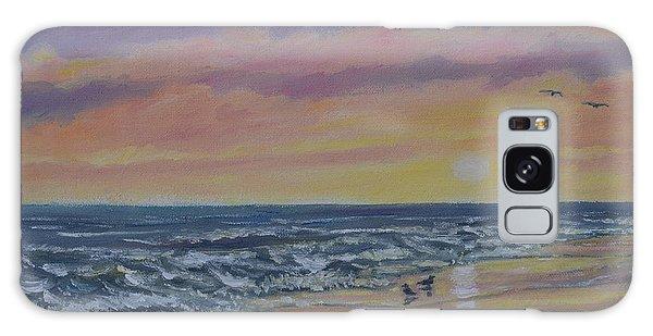 Beach Glow By K. Mcdermott Galaxy Case