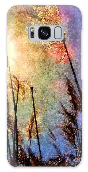 Beach Grass Afternoon Galaxy Case