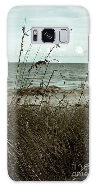 Beach Grass Oats Galaxy Case
