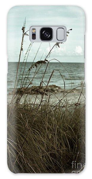 Beach Grass Oats Galaxy Case