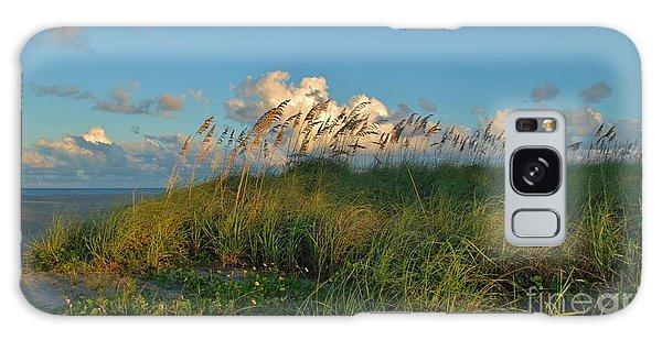 Beach Greenery Panorama Galaxy Case by Bob Sample