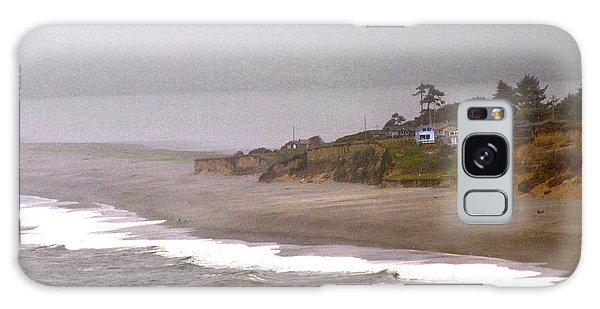 Beach House Galaxy Case by Thomas Bomstad