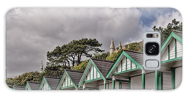 Beach Huts Langland Bay Swansea 3 Galaxy Case