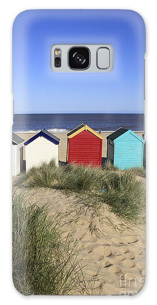 Southwold Beach Huts Uk Galaxy Case