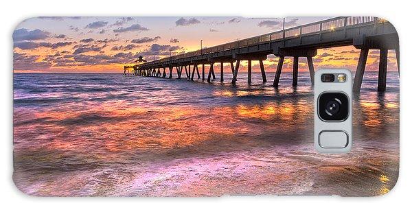 Boynton Galaxy S8 Case - Beach Lace by Debra and Dave Vanderlaan