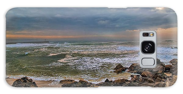 Beach Landscape Galaxy Case