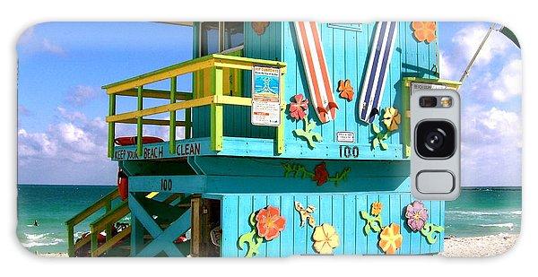 Beach Life In Miami Beach Galaxy Case