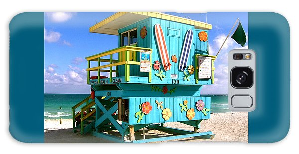 Beach Life In Miami Beach Galaxy Case
