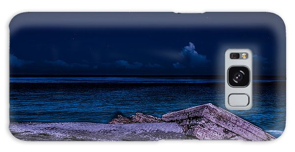 Beach Night Galaxy Case