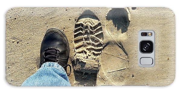 Beach Of Big Feet Galaxy Case by Lon Casler Bixby