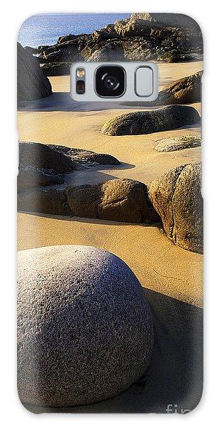 Beach Of Gold Galaxy Case