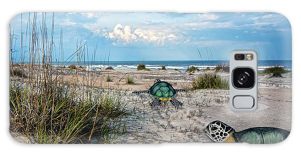 Turtle Galaxy Case - Beach Pals by Betsy Knapp