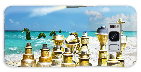 Galaxy Case - Beach Party by Frank Savarese