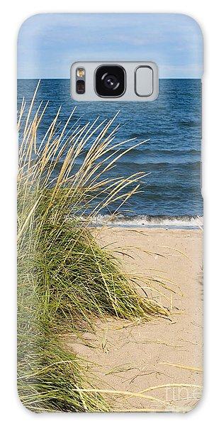 Beach Path Galaxy Case by Barbara McMahon