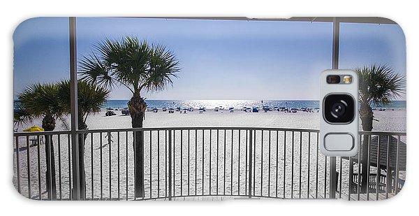 Beach Patio Galaxy Case