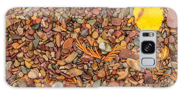 Beach Pebbles Of Montana Galaxy Case
