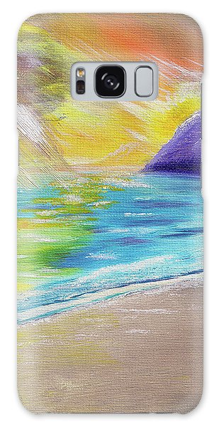 Beach Reflection Galaxy Case