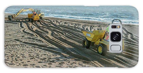 Excavator Galaxy Case - Beach Repair by Robert Brook