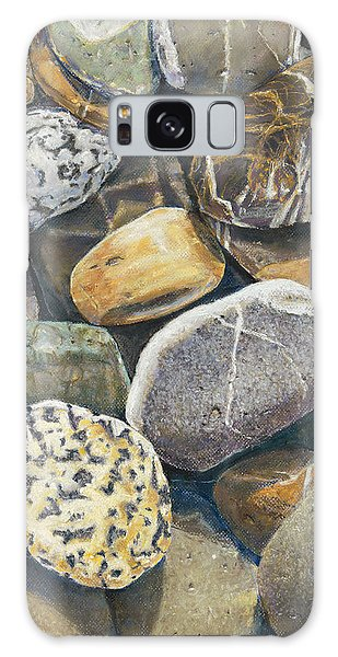 Beach Rocks 4 Galaxy Case