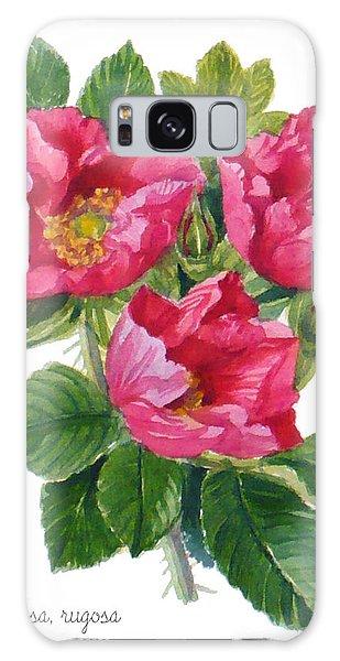 Beach Roses -  Rosa Rugosa Galaxy Case