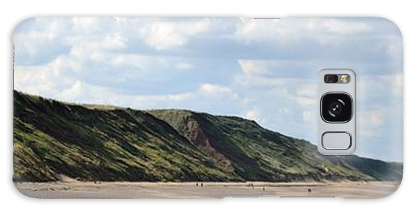 Beach - Saltburn Hills - Uk Galaxy Case