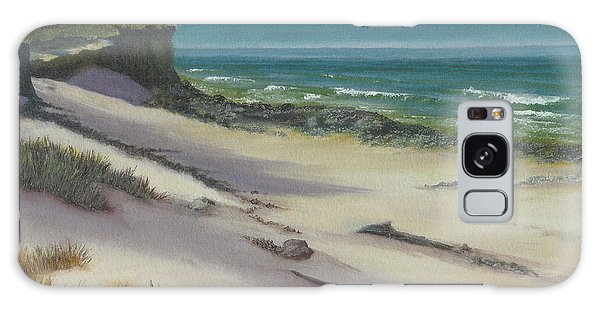 Beach Shadows Galaxy Case by Jeanette French