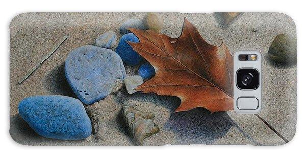 Beach Still Life II Galaxy Case by Pamela Clements
