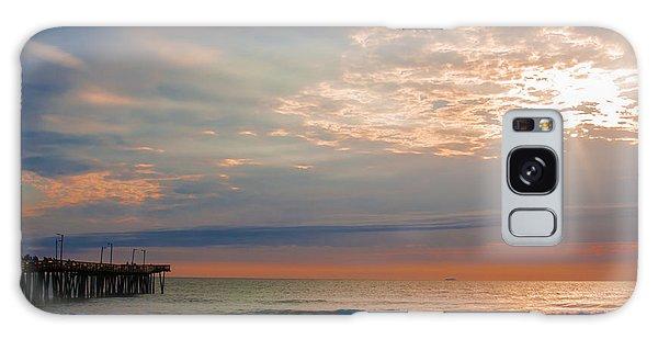 Beach Sunrise Surprise Galaxy Case