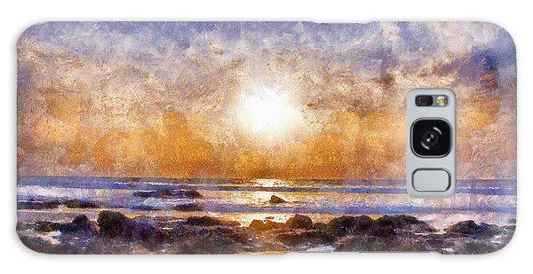 Beach Sunset Galaxy Case by Beach Sunset