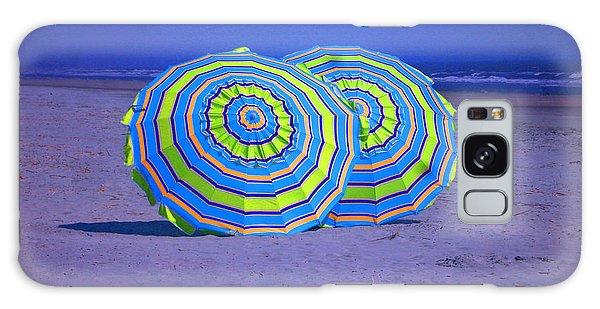 Beach Umbrellas By Jan Marvin Studios Galaxy Case