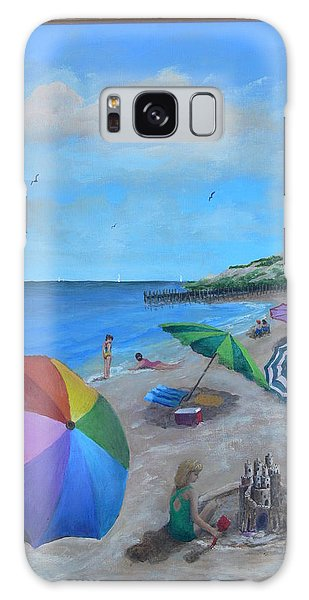 Beach Umbrellas Galaxy Case