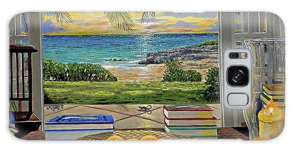 Scenery Galaxy Case - Beach View by Carey Chen