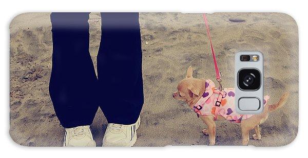 Leash Galaxy Case - Beach Walk by Laurie Search