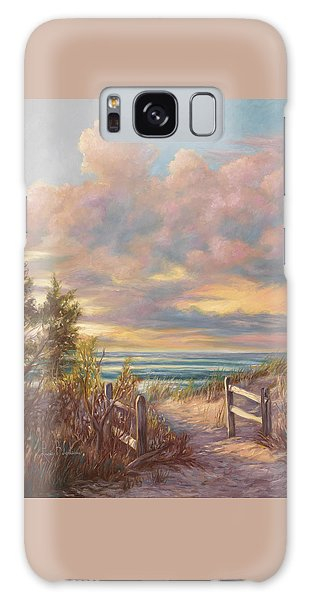 Beach Walk Galaxy Case