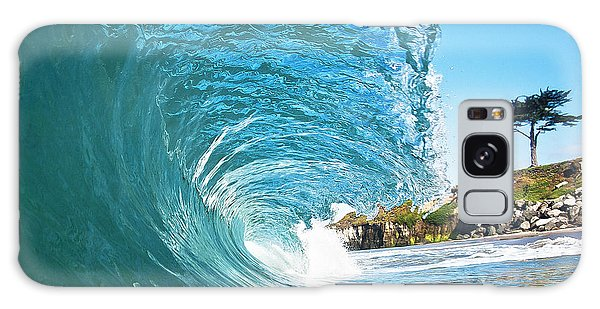 Beach Wave Galaxy Case