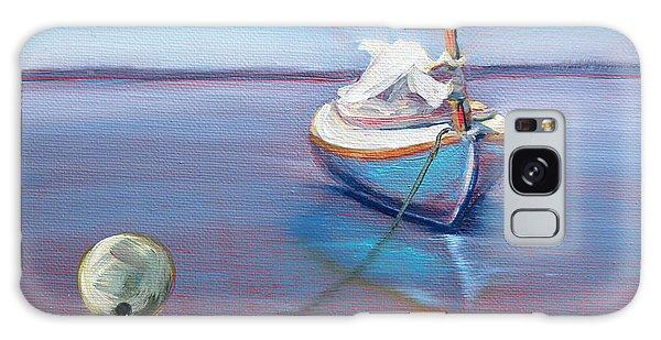 Beached Sailboat At Mooring Galaxy Case
