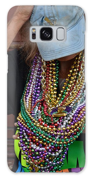 Bead Lady Of The Quarter Galaxy Case by Nadalyn Larsen