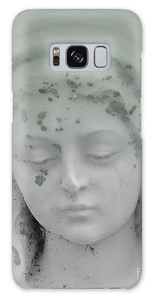 Beaded Angel Head Mint Galaxy Case