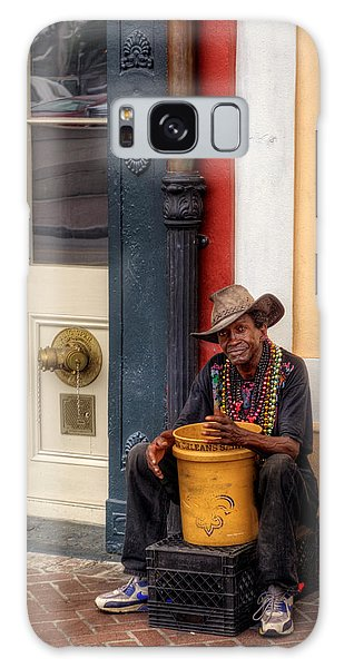 Beads And Bucket In New Orleans Galaxy Case